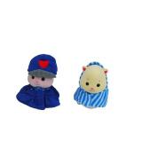 Zhu Zhu Pets Baby Outfits - Denim Dress/Blue Hoodie