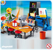 Playmobil School Woodshop Class