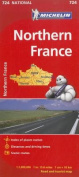 Michelin Northern France Road and Tourist Map
