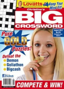 Christine's BIG Crossword - 1 year subscription - 13 issues