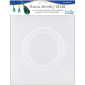 Resin Jewellery Reusable Plastic Mould .13cm X.950cm x 6cm -Bangle Bracelet