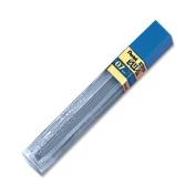Super Hi-Polymer Lead Refills, 0.7mm, 2H, Black, 12 Leads/Tube