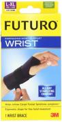 """Energizing Wrist Support, Large/XLarge, Fits Left Wrists 6 3/4"""" - 8 1/2"""", Black"""