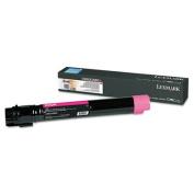 Lexmark C950X2MG C950 Magenta High Yield Toner Cartridge