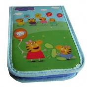 Anker Peppa Pig Double Filled Pencil Case