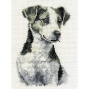 DMC Cross Stitch Kit - Dogs - Jack Russel