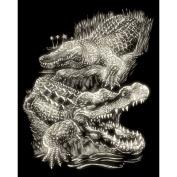 ENGRAVING ART & TOOL GLOW IN THE DARK STYLE CROCODILES