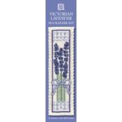 Textile Heritage Collection Cross Stitch Bookmark Kit - Victorian Lavender