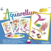 Aquarellum Mermaids Painting Set