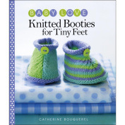 Sixth & Springs Books-Knitted Booties For Tiny Feet