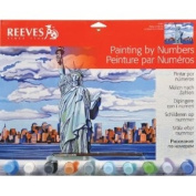 Reeves Large Acrylic Painting By Numbers - Statue of Liberty