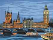 Reeves Paint by Numbers Houses of Parliament