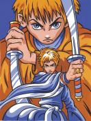 Reeves Manga Painting By Numbers - Samurai Boys