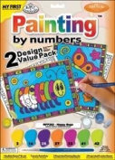 """My First Paint By Number Kit 8-3/4""""X11-3/8"""" 2/Pkg-Happy Bugs"""