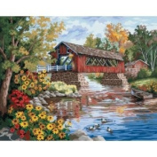 Paint By Number Kit 50cm x 41cm -Country Thoroughfare