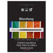 Speedball Art Products 444751 Bienfang Aquademic Watercolor Paper Pad 9 in. x 12 in. -15 Sheets