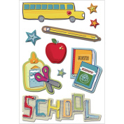 Recess Layered Puffy Stickers-