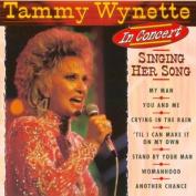 In Concert Singing Her Songs