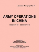 Army Operations in China, December 1941-December 1943
