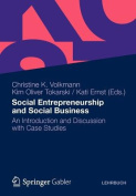 Social Entrepreneurship and Social Business