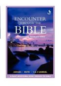 Encounter: Through the Bible