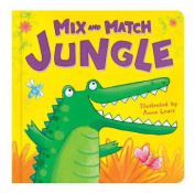Jungle (Mix and Match) [Board book]