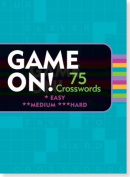 Game On! Puzzle Books Crosswords