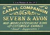 Pearson's Canal Companion - Severn & Avon
