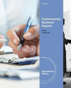 Contemporary Business Reports, International Edition