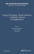 Energy Harvesting - Recent Advances in Materials, Devices and Applications