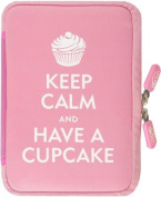 NeoSkin Kindle Zip Sleeve, Keep Calm and Have a Cupcake