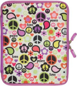 NeoSkin iPad Zip Sleeve, Peace Out (fits iPad 2 and new iPad)