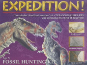 Expedition! Fossil Hunting Kit [With Excavation Block, Brushes, Paint Tablets]