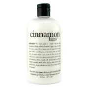 Cinnamon Buns 3-In-1 Bath & Shower Gel, 473.1ml/16oz