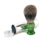 Travel Brush Fine With Canister - Green, 1pc