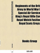Regiments of the British Army in World War II