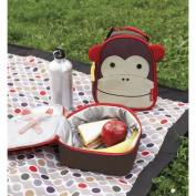 Skip Hop Zoo Lunchie Kids and Toddler Insulated Lunch Bag Monkey
