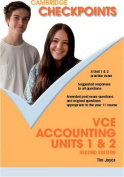 Cambridge Checkpoints VCE Accounting Units 1 and 2