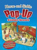 Horse and Stable PopUp Sticker Scenes