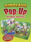 Dinosaur Popup Sticker Scenes