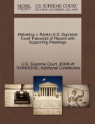 Helvering V. Rankin U.S. Supreme Court Transcript of Record with Supporting Pleadings