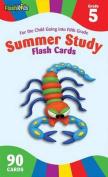 Summer Study Flash Cards Grade 5 (Flash Kids Summer Study)