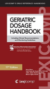 Geriatric Dosage Handbook