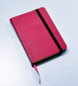 Monsieur Notebook Leather Journal - Pink Plain Small A6