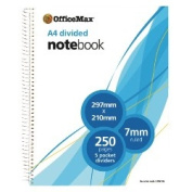 OfficeMax Perforated Notebook, A4