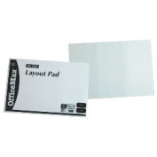 OfficeMax Layout Pad, A2, 45gsm, 100 Sheets