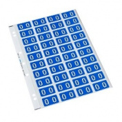 Codafile Alphabetical Labels, O, Blue, Sheet 40