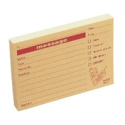 Post-it Telephone Message Pad, 74x104mm, 100 Sheets