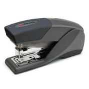 Rexel Lite Touch Half Strip Stapler Black
