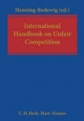 International Handbook on Unfair Competition